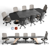 Delta meeting table and chair