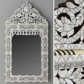 RH hand carved inlay mirror1