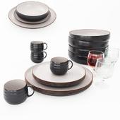 Set Dinner Plate Crate Barreal