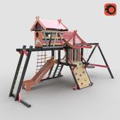 """Children's Playground """"Cabin"""""""