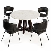 Portello Chair and Montara Round Table