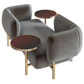 Patricia Urquiola upholsters modular sofa