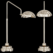Restoration Hardware CONVESSI TABLE LAMP Nickel