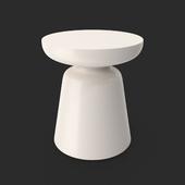 Martini Side Table White