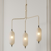 Pierce Chandelier by Coil and Drift