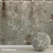 Бетонная стена. Старый бетон. 133