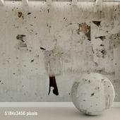 Бетонная стена. Старый бетон. 134