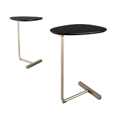 West Elm Charley C Side Table Dark Mineral