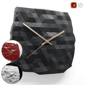 Polyhedra clock