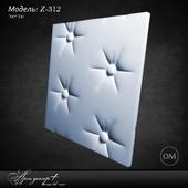 Gypsum 3d panel Z-312 by Artdecor
