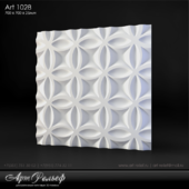Plaster 3d panel Art-1028 from Art Relief