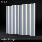 Plaster 3d panel Art-1024 from Art Relief
