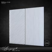 Gypsum 3d panel Z-316 by Artdecor