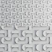 Japanese Ceramic Component Tiles