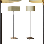 DAKOTA bronze & CASABLANCA floor lamp