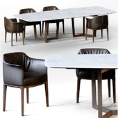 Обеденный стол Bolero+ стул Archibald