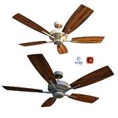 SOHO, потолочный вентилятор от компании Quorum, USA.