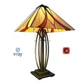 Asheville, модель настольного светильника от компании Quoizel, USA.