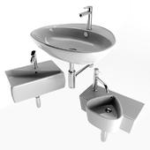 Washbasin set 12