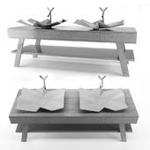 Washbasin origami