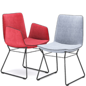 Freifrau Amelie Armchair and Chair