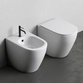 Унитаз и Биде PIN от Nic Design