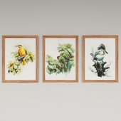 Набор картин художника Zeng Xiao Lian