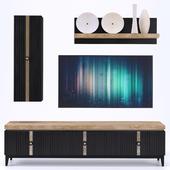 TV Stand R1 - тв стенка