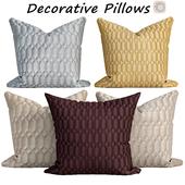 Decorative pillows set 538