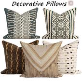 Decorative pillows set 540