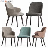 Foyer Dining Chair Set Calligaris