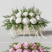 Flower Set 007 Rose and Chrysanthemum.