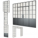 3d Models Doors Om Partitions In Loft Style Set 3 From