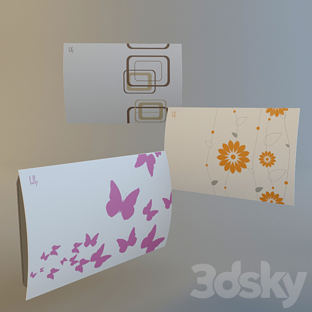 Elegant small radiator Lally