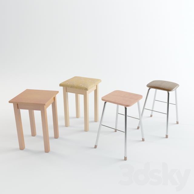 A set of stools