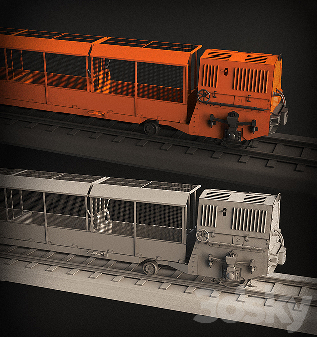 Train / Mail Rail