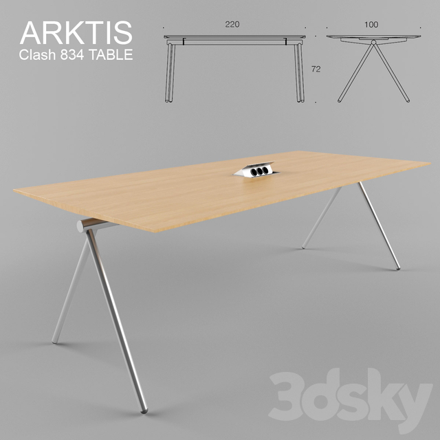 ARKTIS Clash 834 TABLE