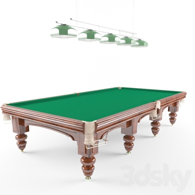 tables for Russian Billiards