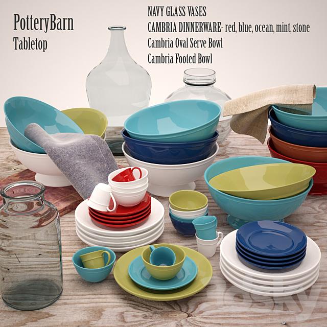 PotteryBarn tabletop mix