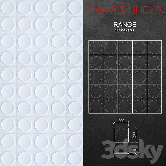 3D panel Range