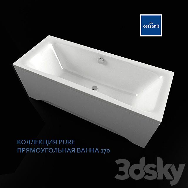 CERSANIT PURE 170 rectangular bath