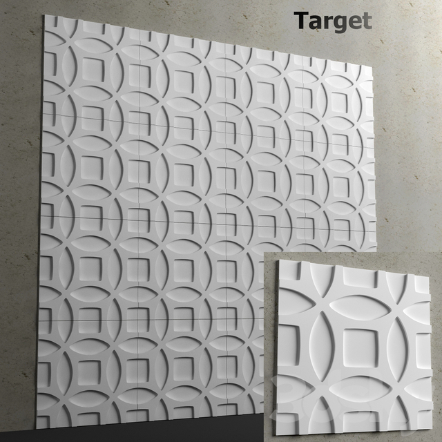 3d panel - Target