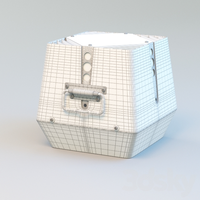 RSV chimney fan. Model RSG 150-4-1