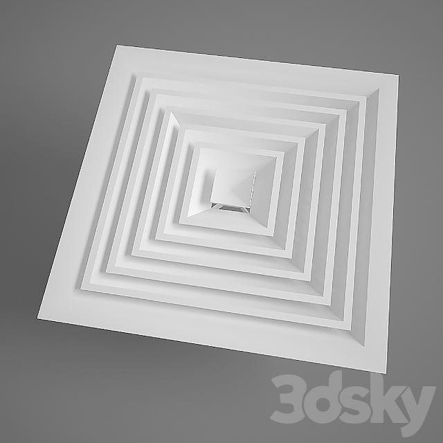 Diffuser 600x600 mm