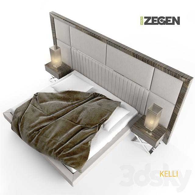 The bed KELLI. ZEGEN.