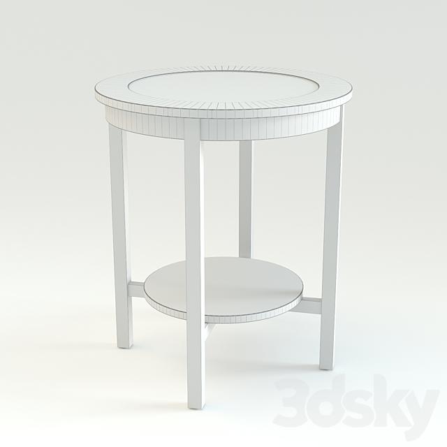"3d models: Table - IKEA ""MALMSTA"""