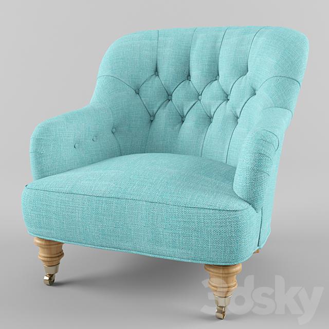 Linen Corrigan Chair