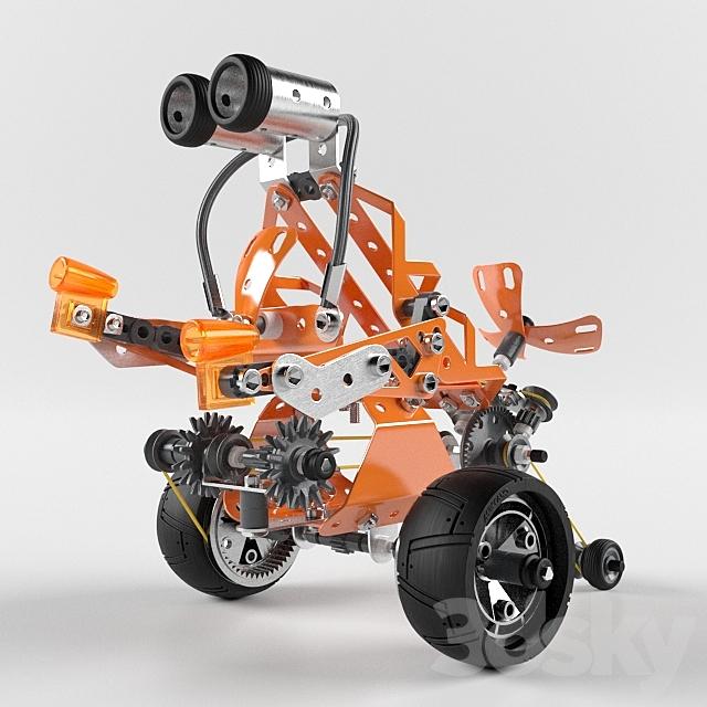 """""""Meccano"""" Robot Toy"""