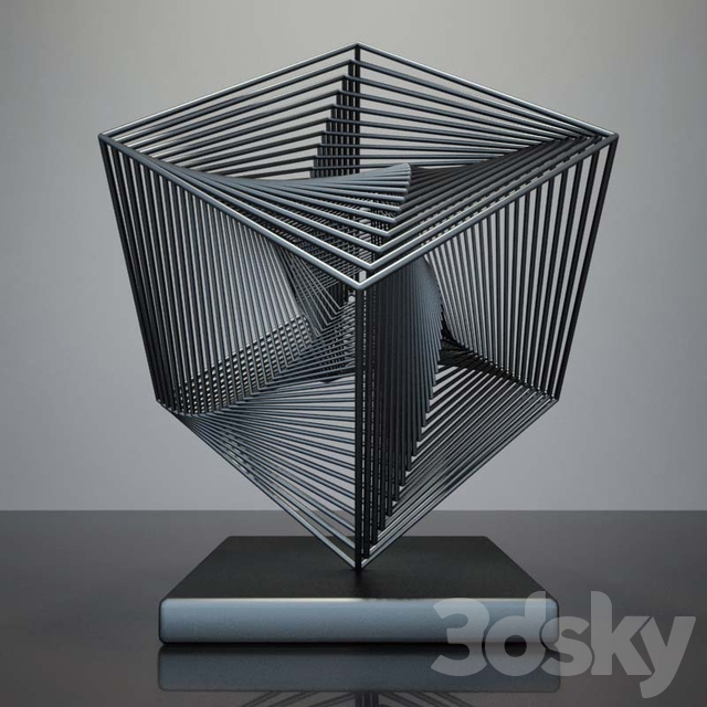 scared geometry sculpture