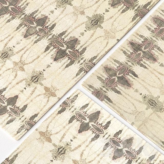 Carpet DorisLeslieBlau Eskayel-Ripple Pearl Rug N11279